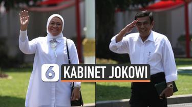 Ida Fauziyah menyambangi Istana Kepresidenan, Selasa (22/10/2019) siang jelang pengumuman menteri Jokowi. Sebelumnya, Jend (Purnawirawan) Fachrul Razi juga datang ke Istana.