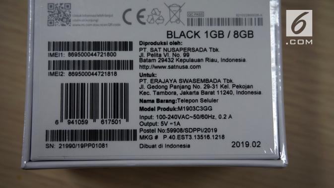 Redmi Go yang dirakit di Indonesia (Liputan6.com/ Agustin Setyo W)