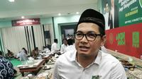 Tommy Kurniawan saat Harlah Garda Bangsa Ke -21 di Kantor PKB