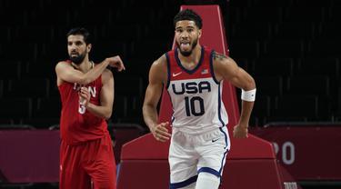 Tim Basket Amerika Serikat Raih Kemenangan Pertama di Olimpiade Tokyo 2020