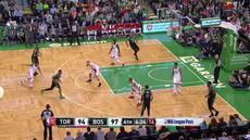 Marcus Morris menambah 25 poin dan meraih sembilan rebound untuk memimpin Celtics meraih kemenangan 110-99 atas Raptors.