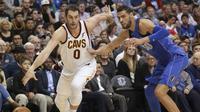 Kevin Love Menjadi Bintang Kemenangan Cavaliers vs Mavericks (AP)