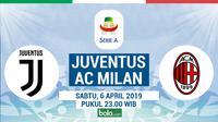Serie A: Juventus vs AC Milan (Bola.com/Dody Iryawan)