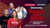 Saksikan Live Streaming Sinemania Bersama Cast dan Sutradara Film Perempuan Tanah Jahanam. sumberfoto: Vidio