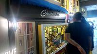 Legitnya Coklat-Dodol Chocodot di Museum Coklat Garut. (Liputan6.com/Jayadi Supriadin)