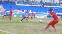 Pertandingan Aceh melawan Kaltim di PON XX Papua (Foto PB PON XX PAPUA 2021/ Denni Christovel Pallo,)