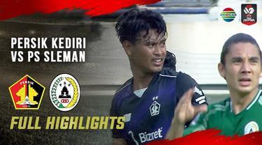 Berita video highlights laga matchday ketiga Grup C Piala Menpora 2021 antara Persik Kediri melawan PSS yang berakhir dengan skor 0-1, Kamis (1/4/2021) sore hari WIB.