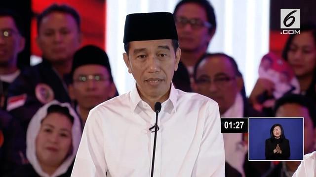 Ditanya Prabowo tentang konflik kepentingan dalam menentukan tugas pejabat. Jokowi menjawab bahwa ia tak punya beban masa lalu, ia lebih enak dan memerintah suatu pekerjaan.