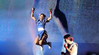 "Rika ""Tiny Doll"" Ishige, petarung MMA asal Thailand (ONE Championship)"