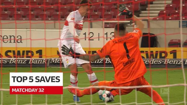 Berita Video 5 Saves Terbaik Bundesliga Pekan 32, Termasuk Penyelamatan Mengesankan dari Yann Sommer