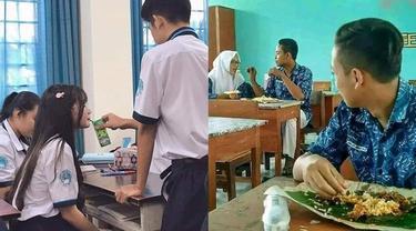 6 Kelakuan Bucin di Sekolah Ini Bikin Elus Dada