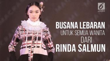Melalui lini pakaian keduanya No.2 by Rinda Salmun lebih mengedepankan busana ready to wear.