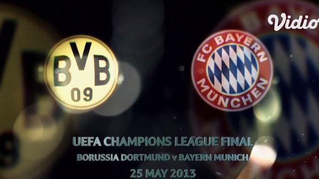 Berita Video Flashback Liga Champions, Gol Telat Arjen Robben Bawa Bayern Munchen Kalahkan Borussia Dortmund di Final