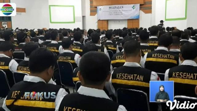 Mereka akan bertugas sebagai panitia penyelenggara ibadah haji Arab Saudi di Kantor Urusan Haji Daerah Kerja Madinah dan bandara.