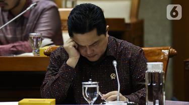 Erick Thohir Bahas Jiwasraya