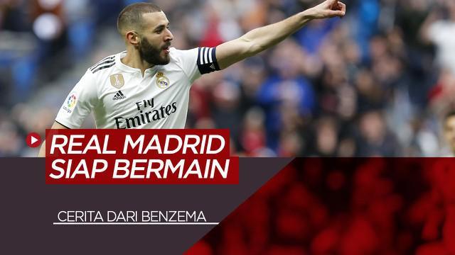 Berita Video tentang  Cerita Bintang Real Madrid, Karim Benzema Sebelum Dimulainya Kembali La Liga