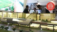 Proyek LRT City Bekasi Timur Green Avenue yang terletak di sisi Stasiun LRT Jatimulya, Bekasi Timur.