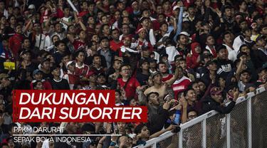 Berita Video, Dukungan Para Suporter Sepak Bola Indonesia Terhadap PPKM Darurat