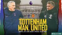 Premier League - Tottenham Hotspur Vs Manchester United - Head to Head Pelatih (Bola.com/Adreanus Titus)
