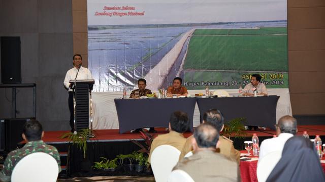 Mentan Targetkan Sumsel Jadi Provinsi Terbesar Penyumbang Pangan Nasional