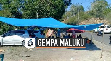 Gempa magnitudo 7,1 di Maluku Utara dan sekitarnya memicu warga Minahasa Utara mengungsi. Mereka bertahan di dataran tinggi karena khawatir gempa susulan.