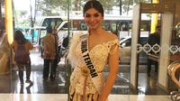 Jihane Almira Chedid, wakil Jawa Tengah di Puteri Indonesia 2020. (Liputan6.com/Putu Elmira)