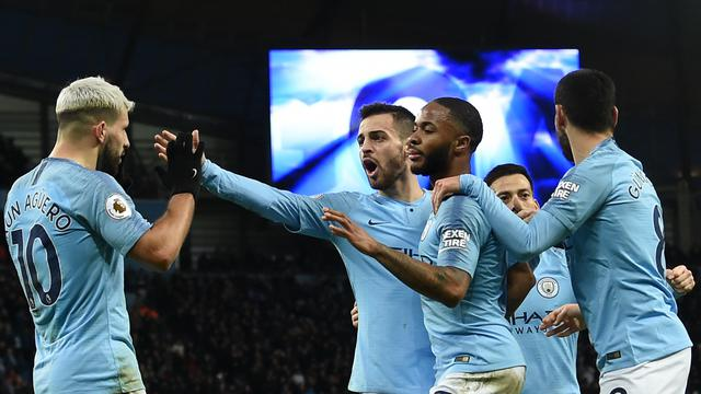 Manchester City Hajar Arsenal 3-1, Sergio Aguero Hattrick