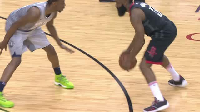Berita video game recap NBA 2017-2018 antara Houston Rockets melawan Minnesota Timberwolves dengan skor 104-101.