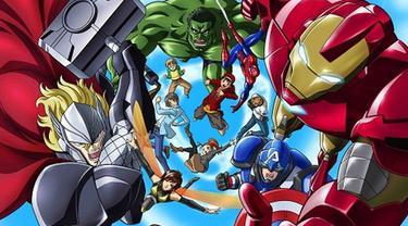 Anime Marvel Disk Wars: Avengers yang mengadaptasi komik The Avengers terbitan Marvel Comics, baru saja mengumumkan karakter-karakter mana saja yang akan muncul melalui situs resminya.