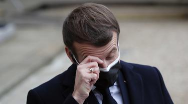 Positif COVID-19, Presiden Prancis Akan Isolasi 7 Hari