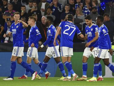 Leicester City Ditahan Imbang Napoli 2-2
