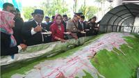 Pisang Ijo Raksasa Makassar meraih rekor MURI. (Kabarmakassar.com)
