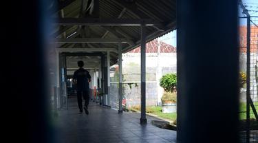 Suasana di dalam salah satu lapas di Nusakambangan. (Foto: Liputan6.com/Muhamad Ridlo)