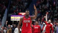 Rookie NBA Zion Williamson (AP)