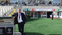 Pelatih Timnas Iran di Piala Asia 2019, Carlos Queiroz. (AFP/Khaled Desouki)
