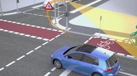 Volswagen dan Siemens mengembangkan teknologi keselamat pejalan kaki. (Volkswagen)