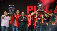 Tim Flash asal Vietnam berhasil menjuarai turnamen Piala Presiden Esports 2020. (Doc: Istimewa)
