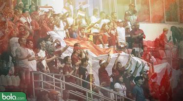 Trivia_Suporter Timnas Indonesia_1 (Bola.com/Adreanus Titus)