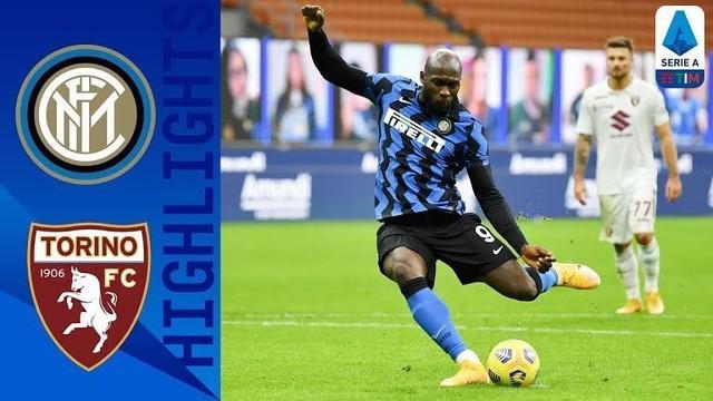 Berita video, Romelu Lukaku sumbang dua gol saat Inter Milan melawan Torino dilanjutan Liga Italia pekan kedelapan