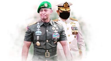 Banner Infografis Siapa Calon Panglima TNI Pilihan Jokowi? (Liputan6.com/Trieyasni)