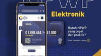 NPWP Elektronik (sumber: DJP)