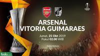 Liga Europa - Arsenal Vs Vitoria Guimaraes (Bola.com/Adreanus Titus)