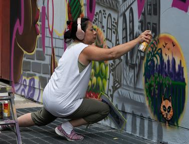 Lady Pink, Ibu Negara Grafiti Asal Amerika Serikat