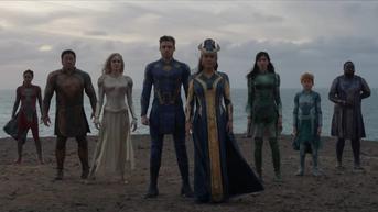 Eternals Jadi Film Marvel Pertama yang Diberi Rating Dewasa Gara-Gara Adegan Sesama Jenis