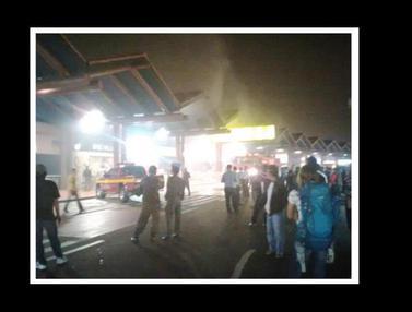 Restoran Cepat Saji di Bandara Soekarno-Hatta Terbakar
