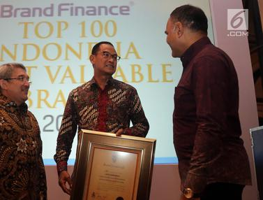Indonesia's Top 100 Most Valuable Brands 2019