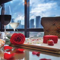 Makan malam di Hari Valentine. (Foto: Dok. Grand Melia Jakarta)