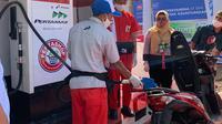 PT Pertamina (Persero) melalui Marketing Operation Region (MOR) III kembali meluncurkan 1 unit Pertashop di Kabupaten Sumedang. (dok: Pertamina)