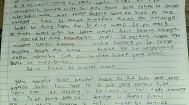 Surat bunuh diri