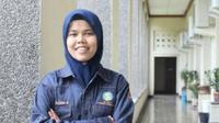 Feby Kurnia, mahasiswi UGM yang ditemukan tewas di toilet lantai 5 Gedung S2 & S3 Pascasarjana itu dikenal disiplin. (istimewa)